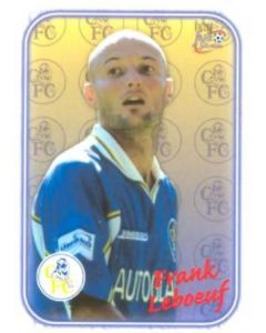 Chelsea Frank Leboeuf card of 2000-2001