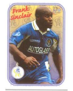 Chelsea Frank Sinclair card of 2000-2001