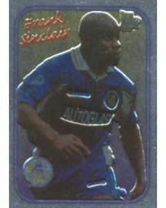 Chelsea Frank Sinclair card silver of 2000-2001