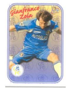 Chelsea Gianfranco Zola card of 2000-2001