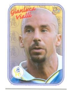 Chelsea Champions Gianluca Vialli card of 2000-2001