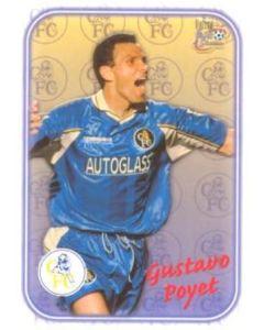 Chelsea Gustavo Poyet card of 2000-2001