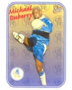 Chelsea Michael Duberry card of 2000-2001