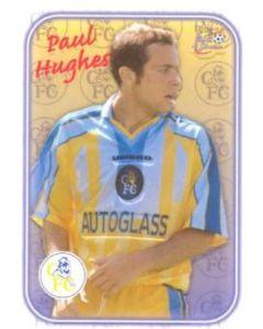 Chelsea Paul Hughes card of 2000-2001