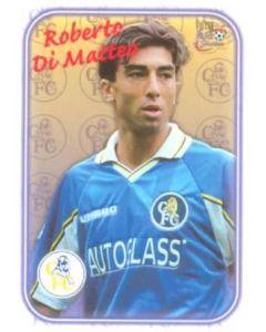 Chelsea Roberto Di Matteo card of 2000-2001