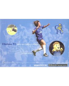 Chelsea Save and Support Album, Season 2001-2002 stamps folder