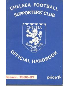 1966-1967 Chelsea Official Supporters' Club Handbook