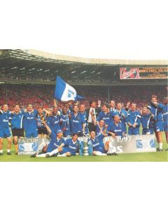 Chelsea set of 100 colour photographs - Chelsea 1997 F.A. Cup Winners