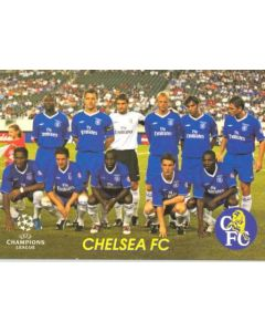 Chelsea team photo, Russian produced of 2000-2001