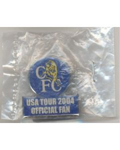 Chelsea USA Tour 2004 Official Fan badge
