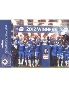 Chelsea - Winners of 2012 FA Cup Souvenir incl. a large colour Chelsea Team photograph