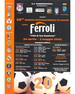 Chelsea Youth Team Tournament Italy 2009 A4 Poster