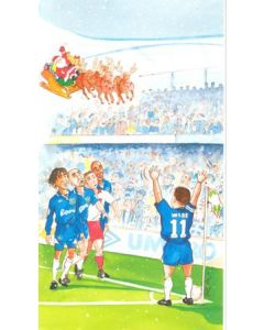 Chelsea Christmas greetings card
