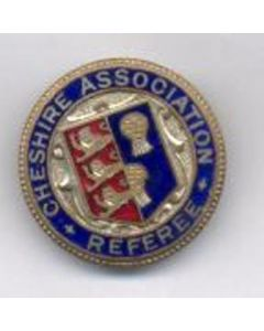 Cheshire Referee Association medal