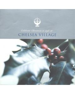 2003 Christmas and New Year at Chelsea Village booking card with menu
