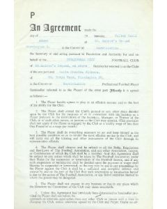 Contract For Hire of a Player between Birmingham City F.C. and Colin Charles Withers of 01/08/1963