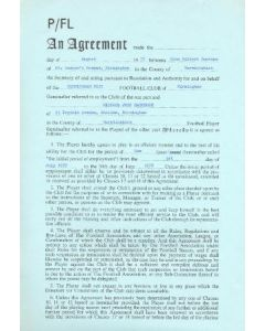 Contract For Hire of a Player between Birmingham City F.C. and Michael John Rathbone of 01/08/1977