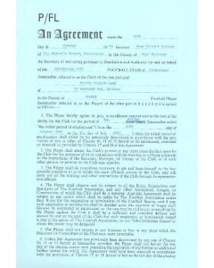 Contract For Hire of a Player between Birmingham City F.C. and Trevor Charles Dark of 24/10/1980