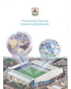 Coventry FC - The Premier Club for Business and Pleasure press pack