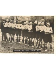 Courtaulds Little Heath FC Photocard