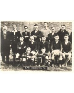 CPO Coventry FC Photocard