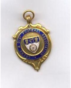 Crewe & District Football Association medal