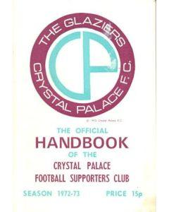 Crystal Palace Official Handbook 1972-73