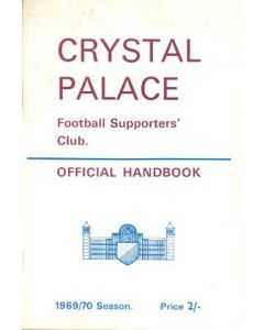 Crystal Palace Official Supporters' Club Handbook 1969-70