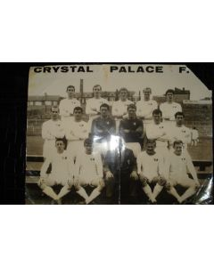 Crystal Palace large team photograph of unknown season
