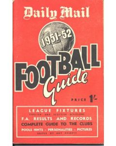 1951-1952 Football Guide, Daily Mail production