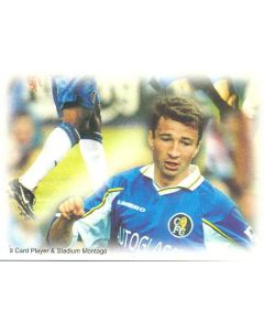 Chelsea card of 1999 featuring Dan Petrescu