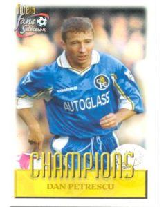Dan Petrescu Chelsea card 1999