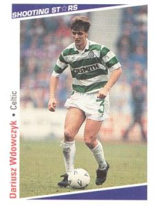 Dariusz Wdowczyk Celtic Shooting Stars Card