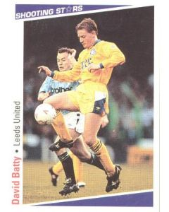 David Batty Leeds United Shooting Stars Card