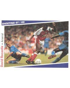 David Rocastle Arsenal Shooting Stars Card