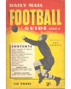 1954-1955 Football Guide, Daily Mail production