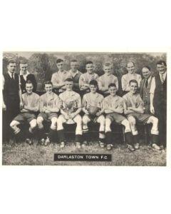 Darlston Town FC Photocard