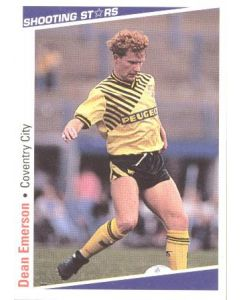 Dean Emerson Coventry City Shooting Stars Card