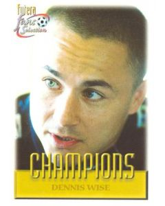 Dennis Wise Chelsea card 1999