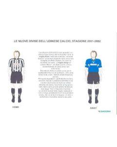 Italian Diadora press pack 2001-2002