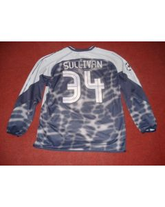 Football Memorabilia Shirt of Chelsea Goal Keeper Sullivan, Match Worn