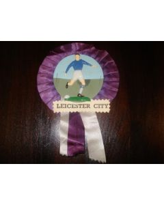 Leicester City Vintage Rosette of 1960's