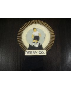 Derby County Vintage Rosette of 1960's