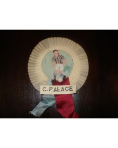 Crystal Palace Vintage Rosette of 1960's