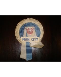 Manchester City Vintage Rosette of 1960,s