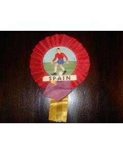 Spain Vintage Rosette World Cup England 1966