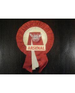 Arsenal Vintage Rosette of 1960's