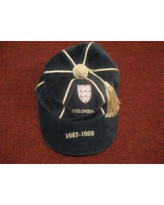 1988 England Players Cap awarded against Colombia