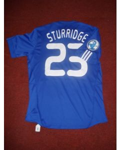Match worn shirt Chelsea's Sturridge No 23 during 2009 World Football Challenge