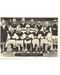 D.T. Marsh's Birmingham FC Photocard